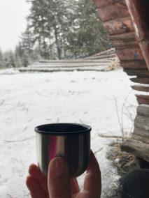 ...i herbata spod wiaty na Lesistej :)