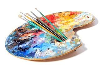 палитра художника