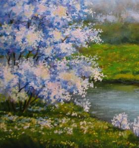 картина весна-2