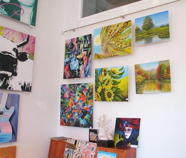 выставка картин художников