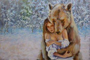 медведь поэтапно 11