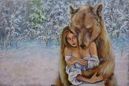 медведь поэтапно 12