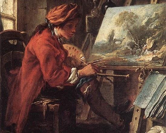 муштабель художника