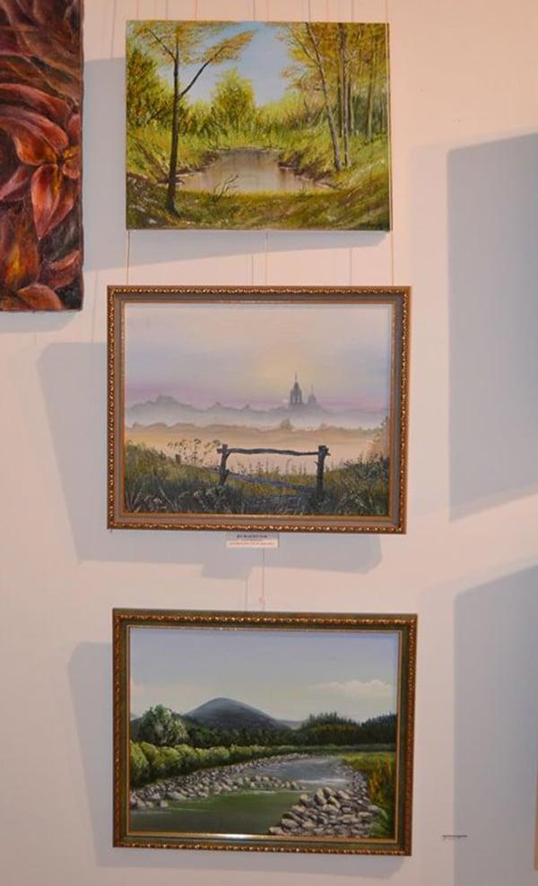 картины на выставке Киев