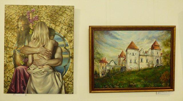 картины маслом на выставке