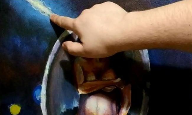 как-рисовать-космом-маслом