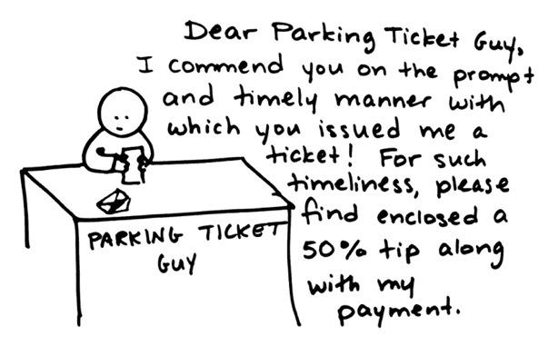 fake parking ticket generator