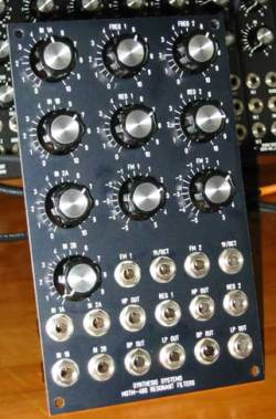 MOTM 480 dual filter mod
