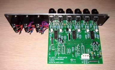 Blacet Mixer MOTM-style panel back