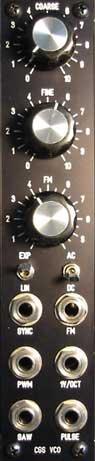 CGS VCO panel