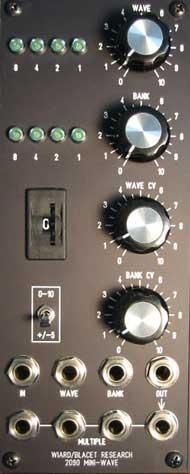 Miniwave panel