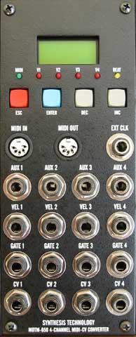 MOTM-650 panel