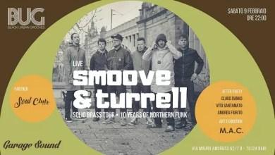 "Photo of [Music Live] SMOOVE & TURRELL live @""Garagesound"" BARI – 9 febbraio 2019"