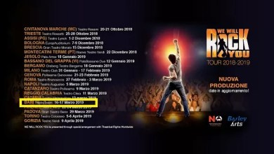 "Photo of [Musical Live] ""WE WILL ROCK YOU"": la grande rock opera con i successi dei Queen passa anche dalla Puglia con una doppia data e con un allestimento tutto nuovo @ ""Teatro Team"" Bari – 16,17 marzo 2019"