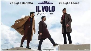"""Photo of [Music Live] IL VOLO: da oggi aperte le prevendite del tour, con due date estive in Puglia @ """"Fossato del castello"""" Barletta – 27 luglio / """" Piazza Duomo"""" Lecce 28 luglio"""