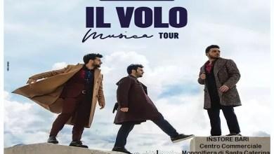 """Photo of [Live Instore] IL VOLO instore a Bari @ """"Centro Commerciale Mongolfiera diSanta Caterina"""" – h. 18.00  7 marzo 2019"""