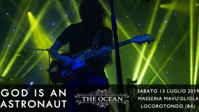 "Photo of [Live Music] GOD IS A ASTRONAUT + THE OCEAN COLLECTIVE  Live @ ""Masseria Mavù"" Locorotondo (BA) – 13 luglio 2019"