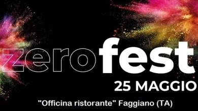 """Photo of [Music Live] ZERO FEST 2019: la prima edizione della festa dedicata ai ragazzi con arte, musica e divertimento @ """"Officina ristorante"""" Faggiano (TA) – 25 maggio 2019"""