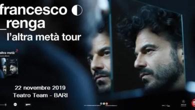 "Photo of [Music Live] FRANCESCO RENGA in concerto a Bari (2a data) @ ""Teatro Team"" BARI – 22 novembre 2019"