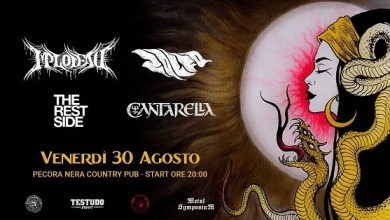 "Photo of [Metal Festival] FOREST RITUAL con 4 band pugliesi: Implodead, Cantarellam, Zolfo, The Rest Side @ ""Pecora Nera CountryPub"" SANTERAMO (BA) – 30 agosto 2019"