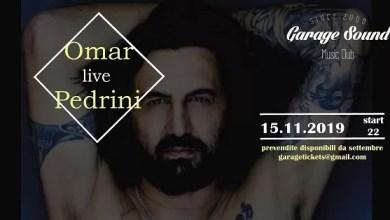"""Photo of [Music Live] OMAR PEDRINI live in """"Viaggio Senza Vento""""  25° anniversario @ """"Garagesound"""" Bari – 15 novembre 2019"""