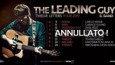 "Photo of [Music Live] THE LEADING  GUY live concert @ ""Garagesound"" BARI – 11 ottobre 2019 – ANNULLATO"