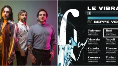 """Photo of [Music Live] Il rock de LE VIBRAZIONI incontra l'orchestra di BEPPE VESSICCHIO, per la prima volta, in un inedito viaggio live nei più importanti teatri d'Italia @ """"Teatro Team"""" BARI – 18 novembre 2019"""