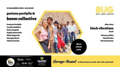 "Photo of [Music Live] BUG presenta ""BOOM Collective"" @ ""Garagesound"" BARI – 16 novembre 2019"