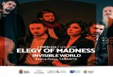 "Photo of [Music Live] ELEGY OF MADNESS ""INVISIBLE WORLD"" Tour – ""Teatro Fusco"" TARANTO, 7 febbraio 2020"
