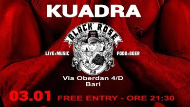 "Photo of [Music Live] KUADRA live set – ""Black Rose"" BARI, 3 gennaio 2020"