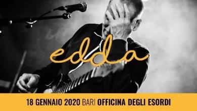 """Photo of [Music Live] L'eclettico cantautore EDDA continua il suo tour con l'album """"Fru Fru"""" e sarà in concerto a Bari all'Officina degli Esordi il 18 gennaio 2020"""