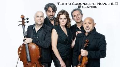 "Photo of CLAUDIA GERINI & Solis String Quartet ""Qualche estate fa"" – ""Teatro Comunale"" di Novoli (LE) 15 gennaio"