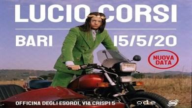 """Photo of [Music Live] LUCIO CORSI in """"Cosa faremo da grandi?"""" il Tour @ """"Officina degli esordi"""" Bari- 15 maggio 2020"""