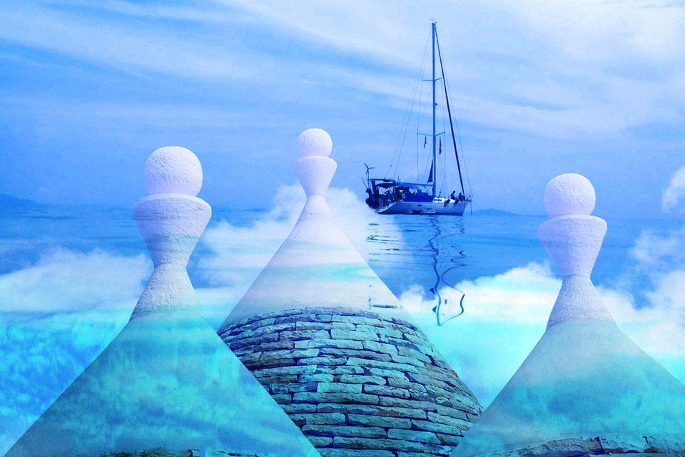 Tour della valle d'itria e crociera in barca a vela