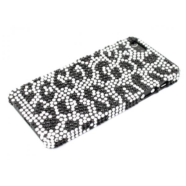 Apple iPhone 5 / 5S / SE Leopardi Timanttikuori