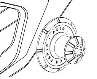 Diábolos para motocicleta Kawasaki ZX-6R 2007