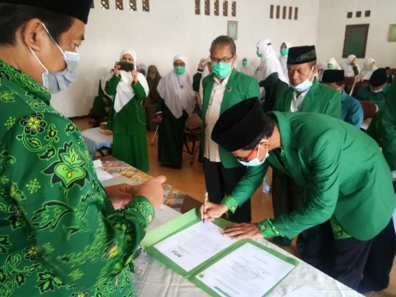 DPW PUI Jabar Lantik PD PUI Subang di Tengah Masa Pandemi Covid 19