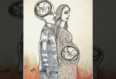 ilustratie femeie insarcinata responsabilitate parinti