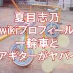 夏目志乃wikiプロフィール
