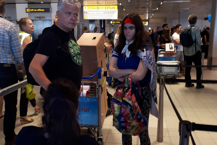 Schiphol Check-in