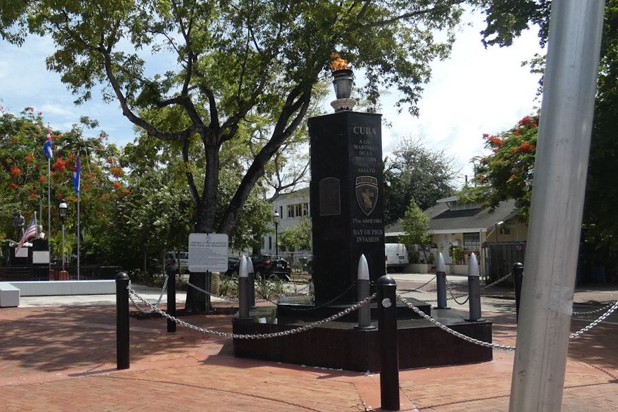 Bay of Pigs Monument, Calle Ocho, Little Havana