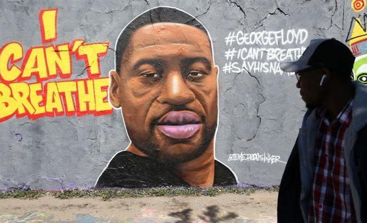 Georges Floyd : Black live Matter - je n'arrive pas à respirer