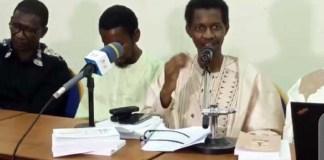 Muhammadu Faalil Sih to Ndakaaru ngam kollitgol deftere mum ɗimmere