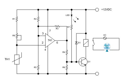 Digital Temperature Control Circuit Temperature Control
