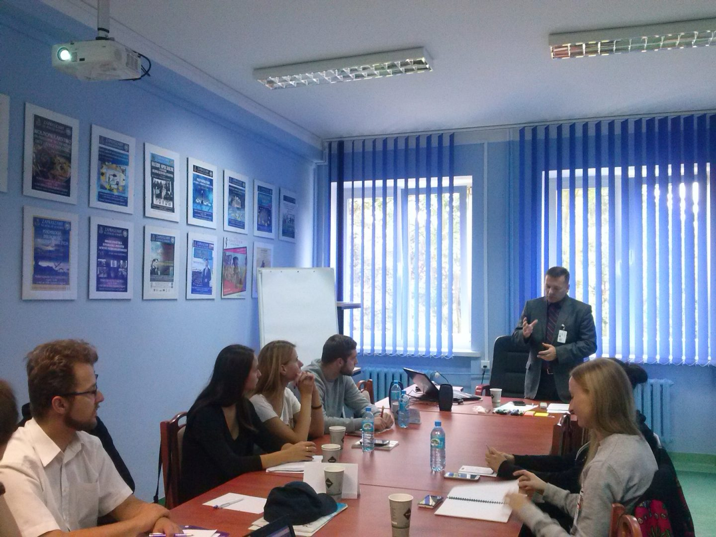 Conflict simulation workshops for students from the Polish Naval Academy in Gdynia