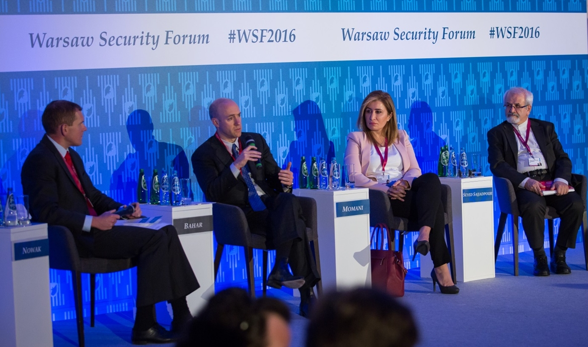Debating peace and stabilisation at the Warsaw Security Forum 2016