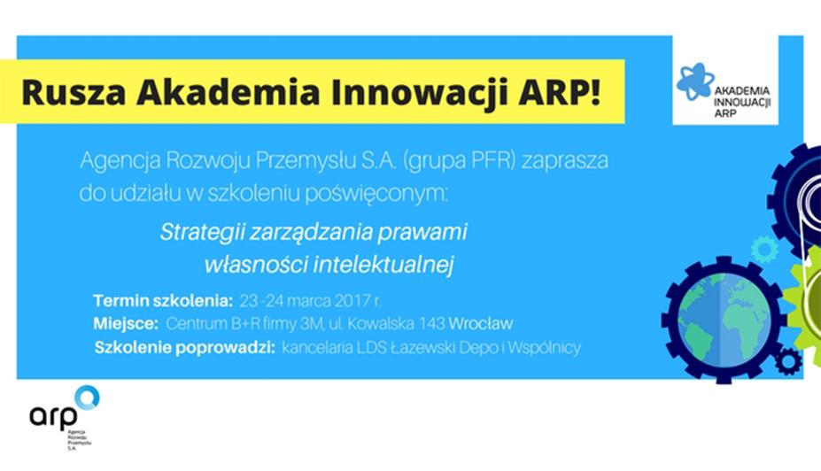 Rusza Akademia Innowacji ARP!