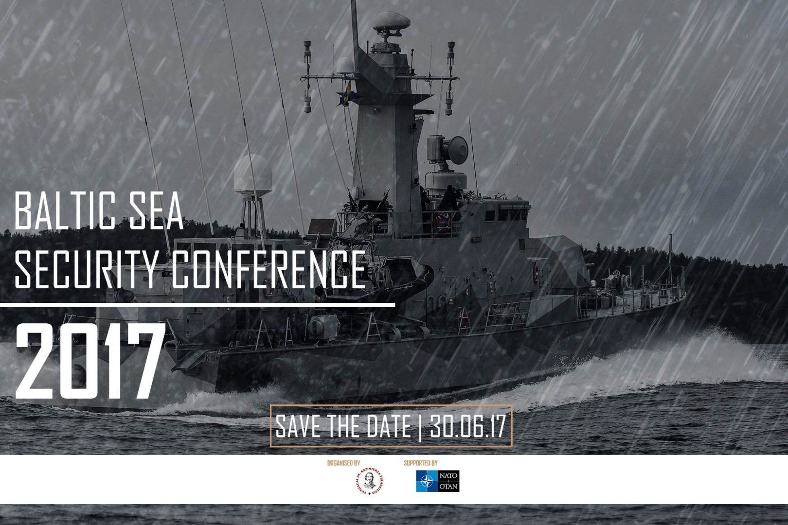 SAVE THE DATE – Baltic Sea Security Conference 2017