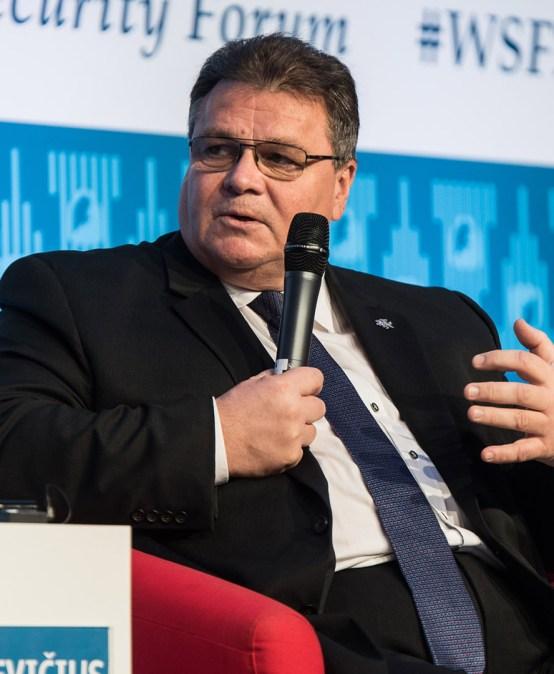 POLSKIE RADIO   WSF2017: Minister Spraw Zagranicznych Litwy Linas Linkevičius – wpustkę przywództwa wdziera się populizm