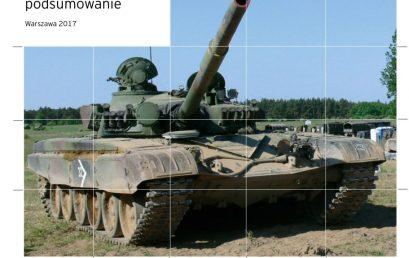RAPORT: Modernizacja T-72 iPT-91: ocena zasadności ipotencjalnych kierunków